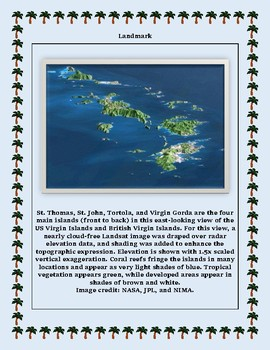 British Virgin Islands Geography Maps, Flag, Data and Assessment