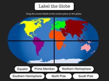 Geography Maps Interactive Activity