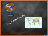 Geography, Maps and Globes: Absolute and Relative Postioning