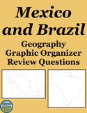 Geography Mexico and Brazil Review