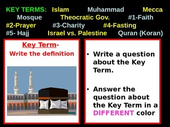Geography - Middle East powerpoint