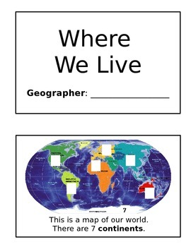Geography Mini-Book
