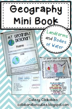 Geography Mini Book