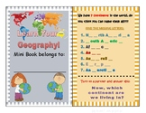 Geography Mini Book (elementary)