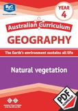 Australian Curriculum Geography: Natural vegetation – Year 4