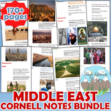 Middle East Cornell Notes Bundle (Geography)