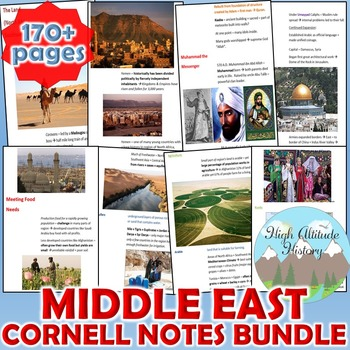 Middle East Cornell Notes *Bundle* (Geography) N Africa, S