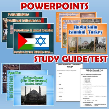 Middle East Unit (Geography)  *Unit Bundle* North Africa, SW & Central Asia