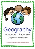 Geography Notebooking Pages and Graphic Organizers