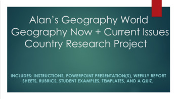 Geography Now + Current Issues Country Research Project