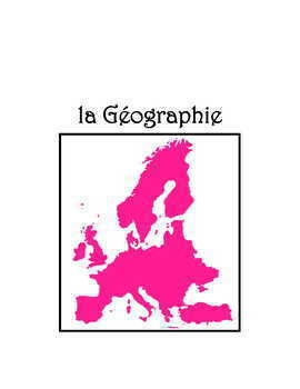 Geography * Pac For French Class