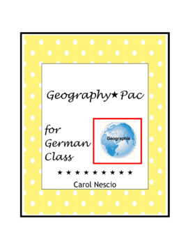Geography * Pac For German Class