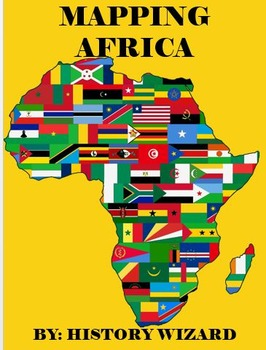 Map Of Africa Geography.Geography Packet Mapping Africa By History Wizard Tpt