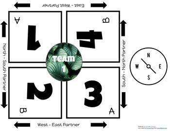 Geography Partner Maps (Digital)