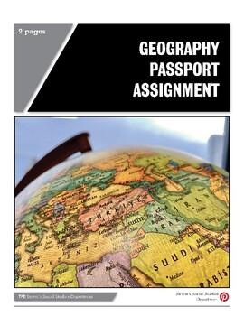 Geography Passport Assignment