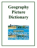 Geography Picture Dictionary Book