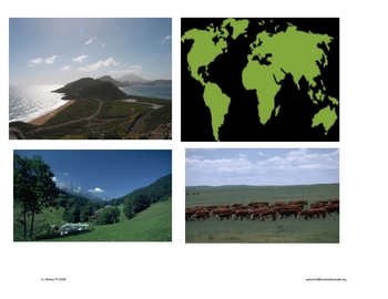 Geography Picture dictionary (landforms)