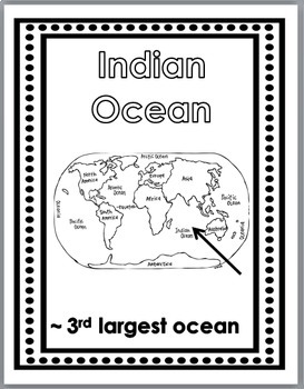 Geography Social Studies Word Wall Posters - Continents and Oceans
