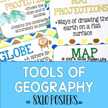 Tools of Geography POSTERS