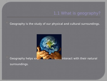 Geography Power Point, History Alive Textbook Review