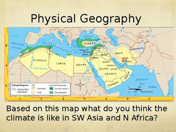 Geography Power Point Southwest Asia and North Africa