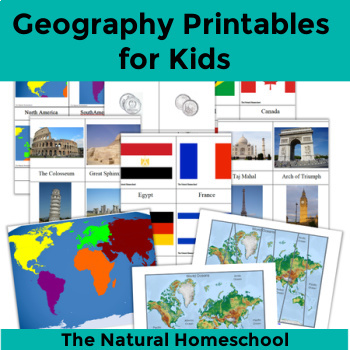 Geography Printables for Kids