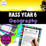 Year 6 Geography Project Australian Curriculum, HASS