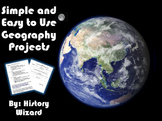Geography Projects (Simple and Easy To Use)