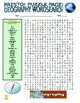 Geography Puzzle Page (Wordsearch and Criss-Cross)