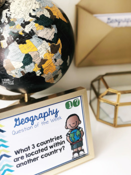 Geography Question of the Week {A Year's Worth of Questions!}