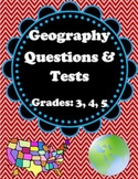 Geography Questions and Tests- 3rd, 4th, 5th
