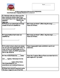 Geography Quiz 5th grade Kentucky Standards