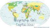 Geography Quiz - Capital idea!