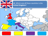 Powerpoint Game: European Geography