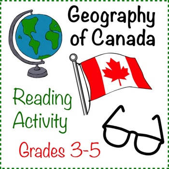 Geography Reading Activity - Canada