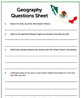 Geography Reading Activity - Mexico