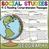 Geography Reading Comprehension Passages K-2