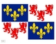 Geography Regional flags of France Posters