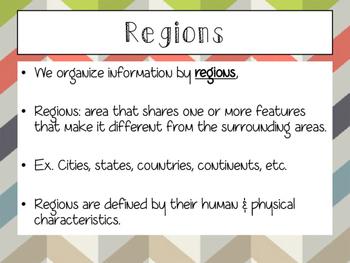 World Geography: Regions