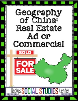 Geography of China Project: Real Estate Ad or Commercial
