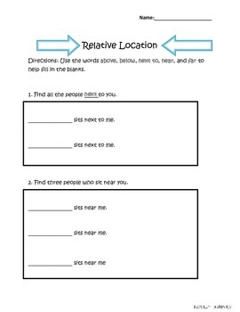 Geography: Relative Location