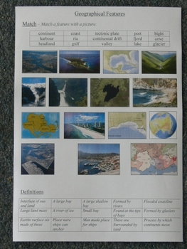 Geography Resource Booklet