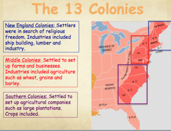 Geography Review for United States History