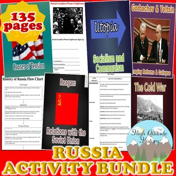 Russia Activity *Bundle* (Geography)