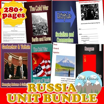 Russia Unit (Geography) Russia Geography *Unit Bundle*