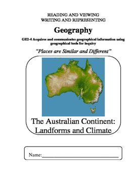 Geography - S2 - Places Are Similar And Different - 03 Geographical Landforms