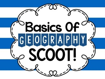 Geography SCOOT!