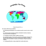 Geography : SOL 3.5 : Assessment and Study Guide
