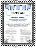 Reading in Social Studies Bellwork: Geography- SS.6.G.6.1 {History Guru}