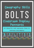 Geography Skills: BOLTSS Acronym POSTERS